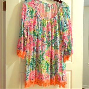 Lilly Pulitzer Dresses - EUC Lilly Pulitzer Coverup Dress🎀